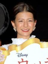 第1子出産後初の公の場に登場したスザンヌ=映画『ウォルト・ディズニーの約束』「忘れられない約束」エピソードコンテスト募集イベント (C)ORICON NewS inc.
