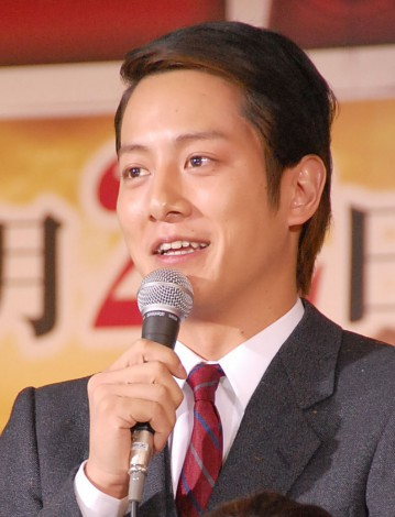 2夜連続大型ドラマ『LEADERS リーダーズ』制作発表会見に出席した溝端淳平 (C)ORICON NewS inc.