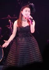 『めんずぶっく2014・第4回東京ボーイズコレクション』でライブを行った酒井法子 (C)ORICON NewS inc.