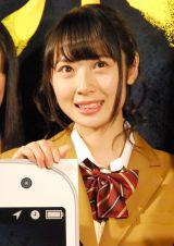 BS-TBS『スマホラー劇場』記者会見にに出席したSKE48・高柳明音 (C)ORICON NewS inc.