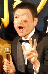 BS-TBS『スマホラー劇場』記者会見にに出席したザブングル・加藤歩 (C)ORICON NewS inc.