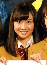 BS-TBS『スマホラー劇場』記者会見にに出席したSKE48の柴田阿弥 (C)ORICON NewS inc.