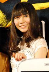 BS-TBS『スマホラー劇場』記者会見にに出席した東京女子流の庄司芽生 (C)ORICON NewS inc.