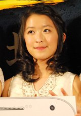 BS-TBS『スマホラー劇場』記者会見にに出席した東京女子流の中江友梨 (C)ORICON NewS inc.
