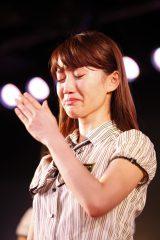 最後の大島チームK公演に出演した大島優子(C)AKS