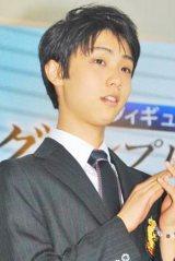19歳ながら男性部門1位に選ばれた羽生結弦選手 (C)ORICON NewS inc.