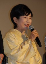 映画『神様のカルテ2』初日舞台あいさつに出席した市毛良枝 (C)ORICON NewS inc.