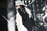 国立競技場で野外ライブを行ったL'Arc〜en〜Cielのhyde(C)緒車寿一、今元秀明、岡田貴之、田中和子