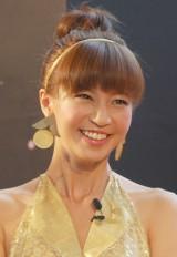 番組で祝福を受けた安田美沙子 (C)ORICON NewS inc.