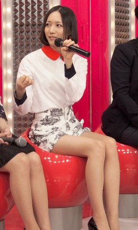 NHK音楽番組『MUSIC JAPAN』に出演するPerfume・のっち (C)ORICON NewS inc.