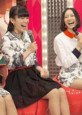 NHK音楽番組『MUSIC JAPAN』に出演するPerfume(左から)あ〜ちゃん、のっち (C)ORICON NewS inc.