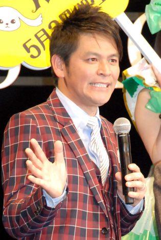 映画『悪夢ちゃん The 夢ovie』完成披露試写会に出席したますだおかだの岡田圭右 (C)ORICON NewS inc.