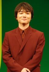 映画『WOOD JOB!(ウッジョブ)〜神去なあなあ日常〜』完成披露試写会に出席した染谷将太 (C)ORICON NewS inc.