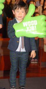 映画『WOOD JOB!(ウッジョブ)〜神去なあなあ日常〜』完成披露試写会に出席した枡水柚希 (C)ORICON NewS inc.