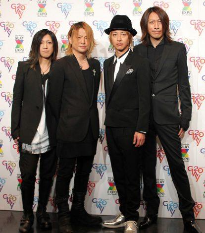 大規模ライブ『GLAY EXPO』を9月20日に宮城スタジアムで開催するGLAY (C)ORICON NewS inc.