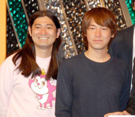 よしもと『アルバイトネタ』ライブに出席したハイキングウォーキング(左から) 鈴木Q太郎、松田洋昌 (C)ORICON NewS inc.