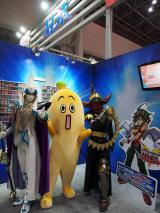 『Anime Japan 2014』ADKブースにテレビ東京のキャラクター「ナナナ」が登場 (C)ORICON NewS inc.
