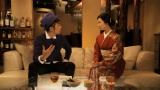 サントリー超ウコン WEBムービーに出演する壇蜜(右)とヒャダイン