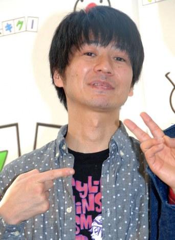 モバイルマガジン『そこ、キク!』記者会見に出席したキングオブコメディ・高橋健一 (C)ORICON NewS inc.