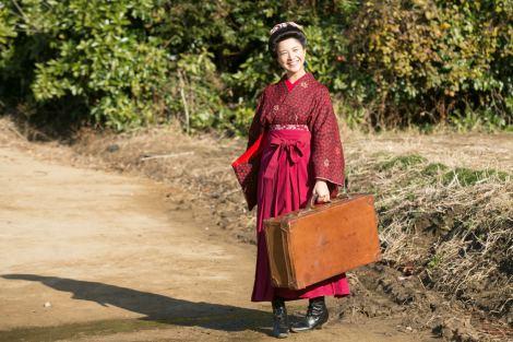 『ごちそうさん』からバトンタッチ。『赤毛のアン』の翻訳者がモデルの吉高由里子主演『花子とアン』3月31日スタート(C)NHK