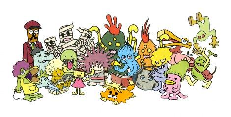 NHK・Eテレで毎週水曜放送の新作アニメ『くつだる。』(C)くつだる。製作委員会