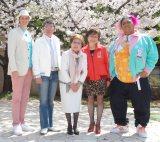 (左から)セインカミュ、布川敏和、海老名香葉子、三浦静加、KONISHIKI (C)ORICON NewS inc.