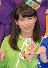 体操着姿で入社式に登場したチームしゃちほこ・大黒柚姫 (C)ORICON NewS inc.