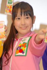 体操着姿で入社式に登場したチームしゃちほこ・安藤ゆず (C)ORICON NewS inc.