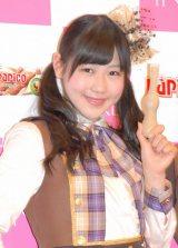 江崎グリコ『パピコ2014春キャンペーン』記者会見に出席したAKB48の西野未姫 (C)ORICON NewS inc.