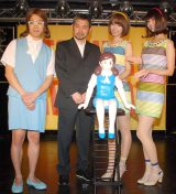 (左から)コップのシキ子、タナカカツキ、バニラビーンズ (C)ORICON NewS inc.