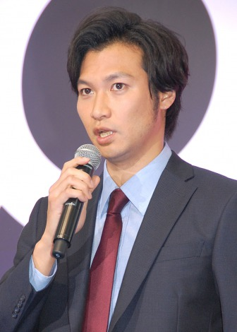 ドラマ『BORDER』の制作発表会見に出席した青木崇高 (C)ORICON NewS inc.