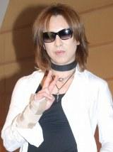 ワールドツアー『YOSHIKI CLASSICAL WORLD TOUR PART1』の記者会見を行ったYOSHIKI (C)ORICON NewS inc.
