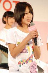 兵庫:山田菜々美(やまだ・ななみ)(15)=AKB48チーム8 (C)ORICON NewS inc.