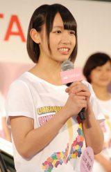 和歌山:山本瑠香(やまもと・るか)(13)=AKB48チーム8 (C)ORICON NewS inc.
