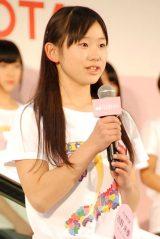大分:吉野未優(よしの・みゆ)(13)=AKB48チーム8 (C)ORICON NewS inc.