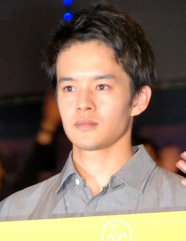 映画『大人ドロップ』初日舞台あいさつに出席した池松壮亮 (C)ORICON NewS inc.