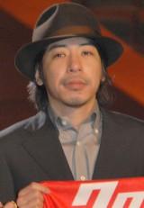 映画『クローズ EXPLODE』の完成披露舞台あいさつに出席した豊田利晃監督 (C)ORICON NewS inc.