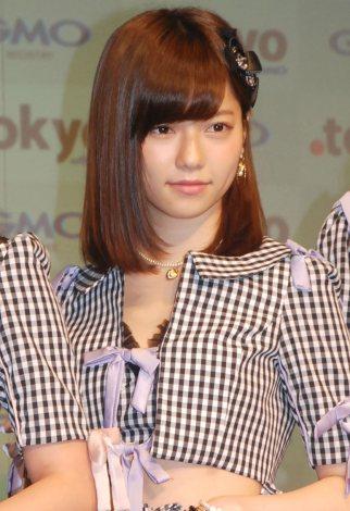 新ドメイン『.tokyo』記者発表会に出席したAKB48・島崎遥香 (C)ORICON NewS inc.