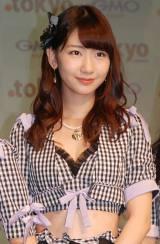 新ドメイン『.tokyo』記者発表会に出席したAKB48・柏木由紀 (C)ORICON NewS inc.