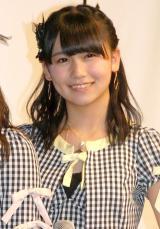 新ドメイン『.tokyo』記者発表会に出席したAKB48・小嶋真子 (C)ORICON NewS inc.