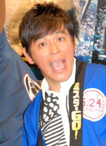 映画『ミスターGO』のイベントに出席したますだおかだ・岡田圭右 (C)ORICON NewS inc.