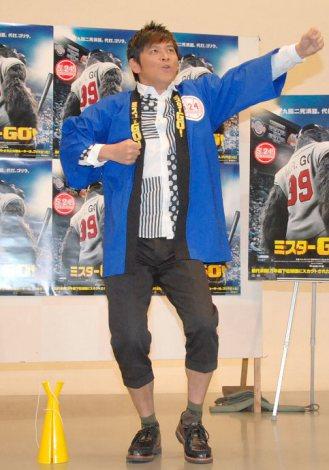 「小道具で逃げようか」ますだおかだ・岡田圭右=映画『ミスターGO』イベント (C)ORICON NewS inc.