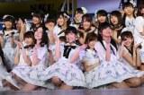 『AKB48リクエストアワー セットリストベスト200 2014』の昼の部で100位から51位まで一挙50曲が発表された (C)AKS