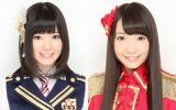 SKE48から卒業することを発表した金子栞(左)、井口栞里(右)