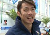 4月12日、関西テレビで『誰も知らない高橋大輔』放送。今年2月、ソチ五輪での戦いを終えてインタビューに答える高橋大輔選手(C)関西テレビ