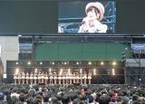 AKB48ファンにあいさつする生駒里奈 (C)ORICON NewS inc.