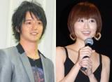 第一子妊娠を報告した吹田早哉佳(右)&三浦孝太夫妻 (C)ORICON NewS inc.