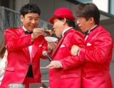 辛い麻婆豆腐を試食するも…=『ダイバーシティー 劇的2周年ィヤー!』スペシャルステージ (C)ORICON NewS inc.