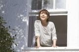 【CMメイキング】窓からさわやかに身を乗り出す有村架純