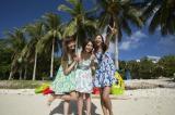 4月30日にCDデビューすることが決定したミスマリ(左から)大浦育子、小柳歩、美月